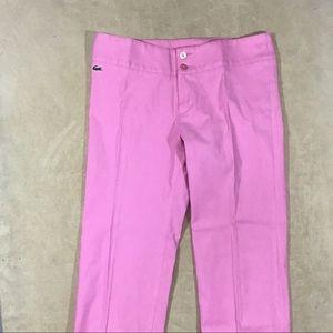 Lacoste size 38 crop pants R24